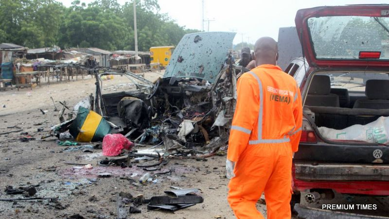 BOMB EXPLOSIONS KILL 16, INJURE 18 IN NORTH NIGERIA