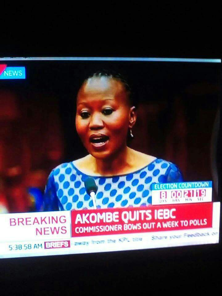 Resignation Press Statement by Dr. Roselyn Akombe
