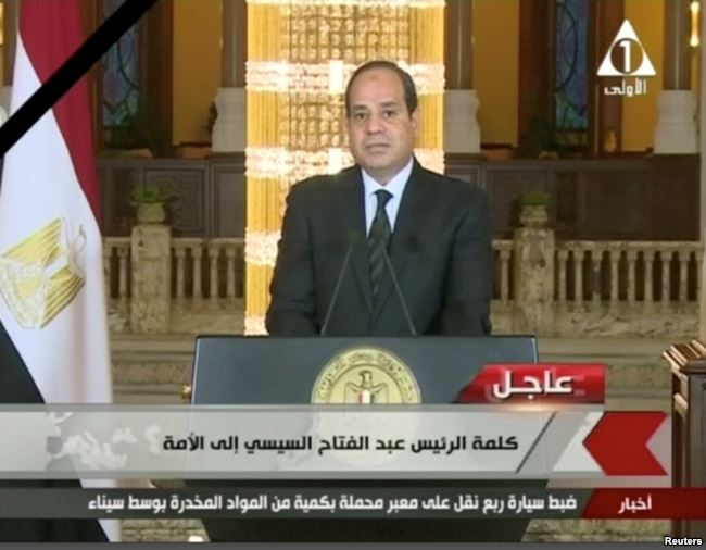 Egypt Mosque Attack: Culprits  'Will Not Go Unpunished' –el Sissi
