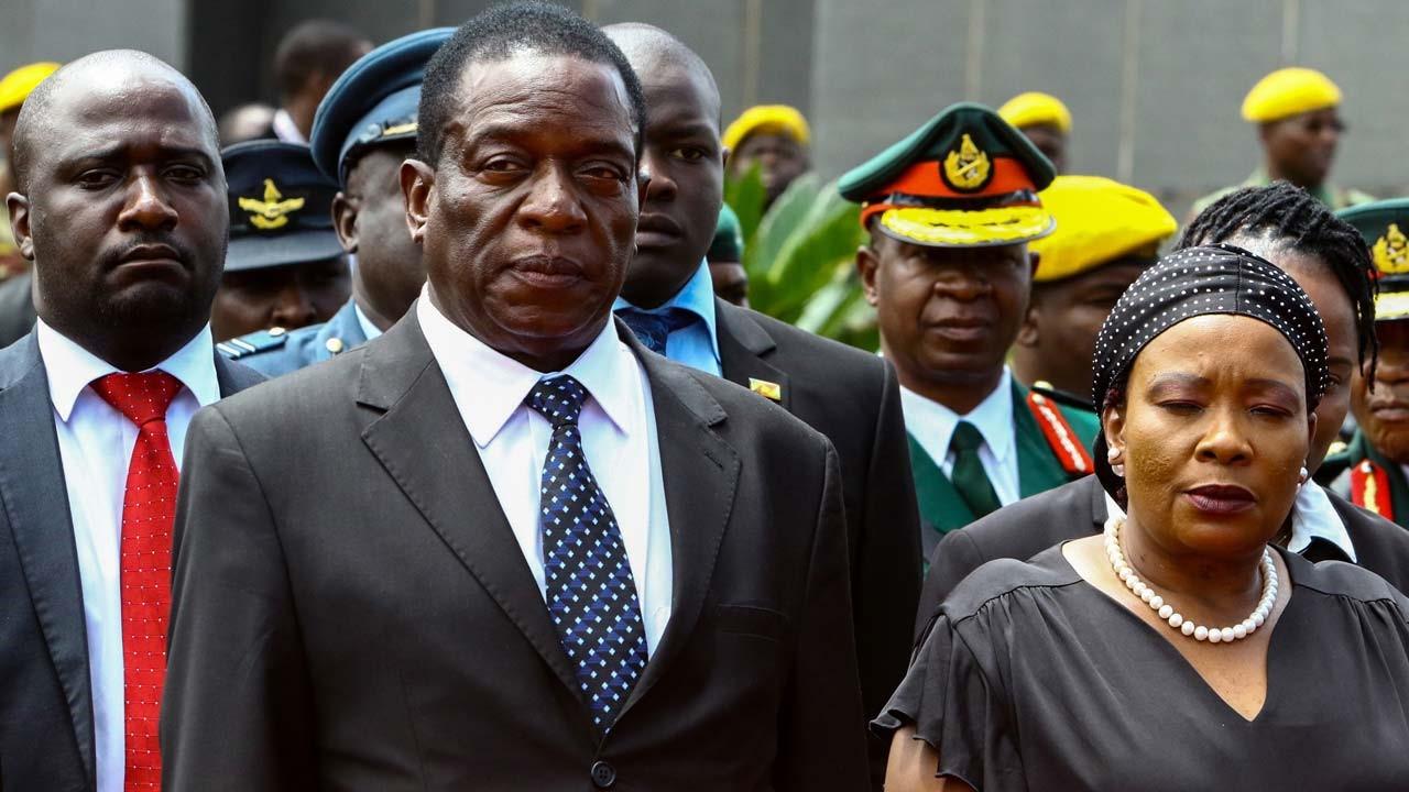 Zimbabwe's VP Mnangagwa, Returns
