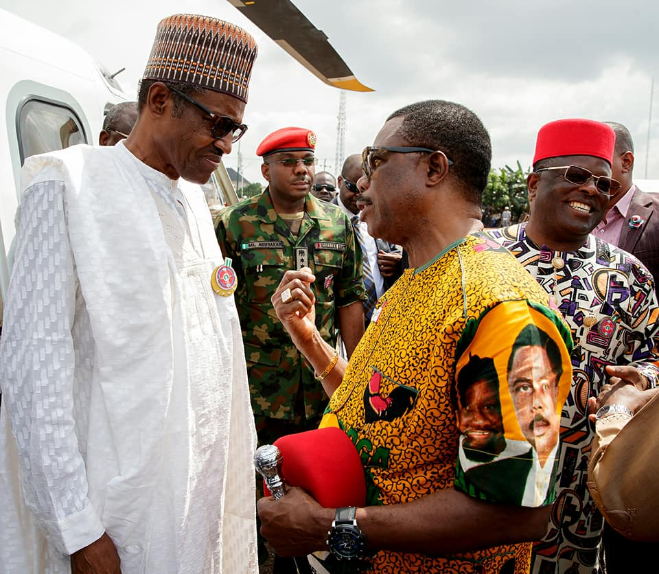 Buhari Orders Reinstatement of Gov. Obiano's Security Aides