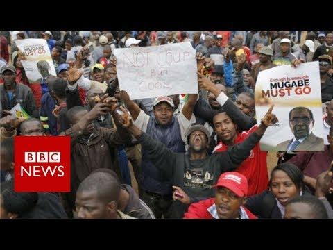 Zimbabweans Celebrate as ZANU-PF Replaces Mugabe with Mnangagwa as Leader