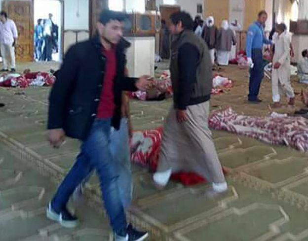 Egypt Mosque Attack Kills 235, Wounds Many. World Leaders React