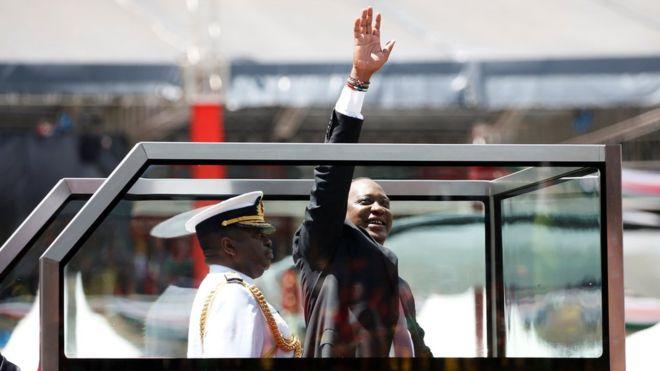 Kenyatta Sworn-in for Second term, Raila Odinga Kicks
