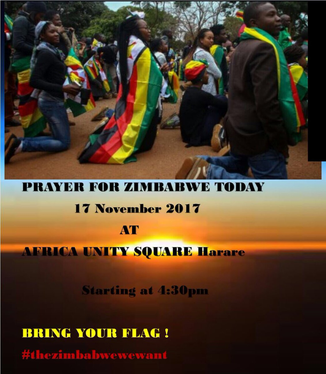 Zimbabweans Pray for Peace Amidst Uncertainty