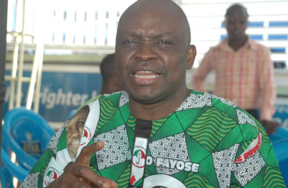 'Ekiti LG Polls Confirmation of PDP's Popularity'