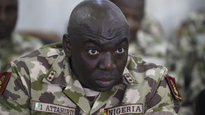 Nigeria Sacks Boko Haram Fighter