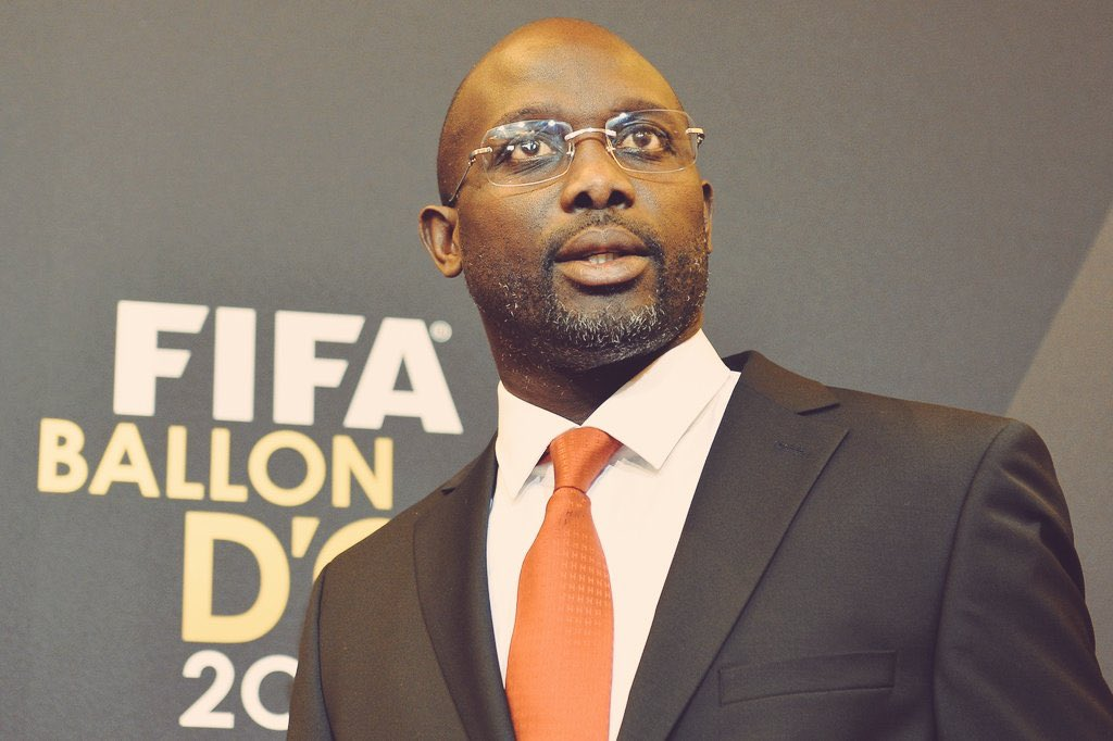 Liberia's President elect-Weah has his eyes always on excellence