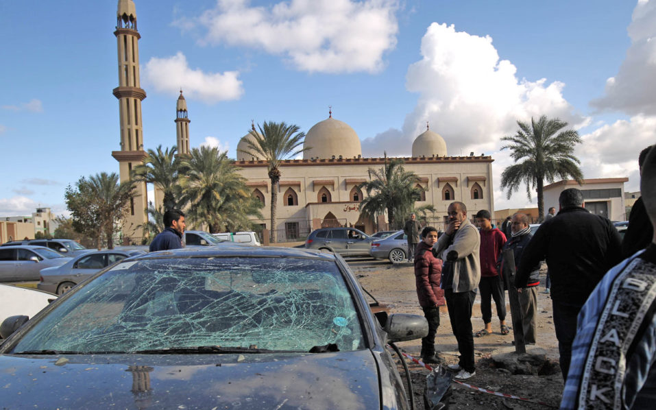 34 dead, 87 wounded in Libya blast