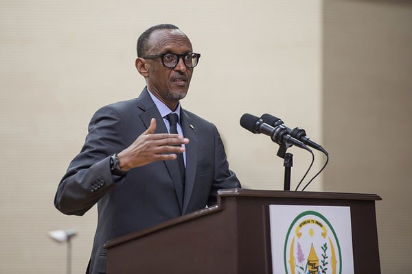 Paul Kagame takes over as AU chairman from Condé