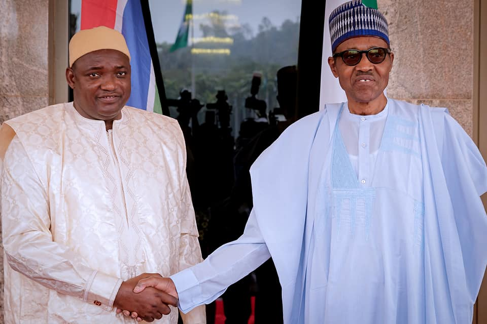 Barrow Thanks Buhari, One Year After Intervention