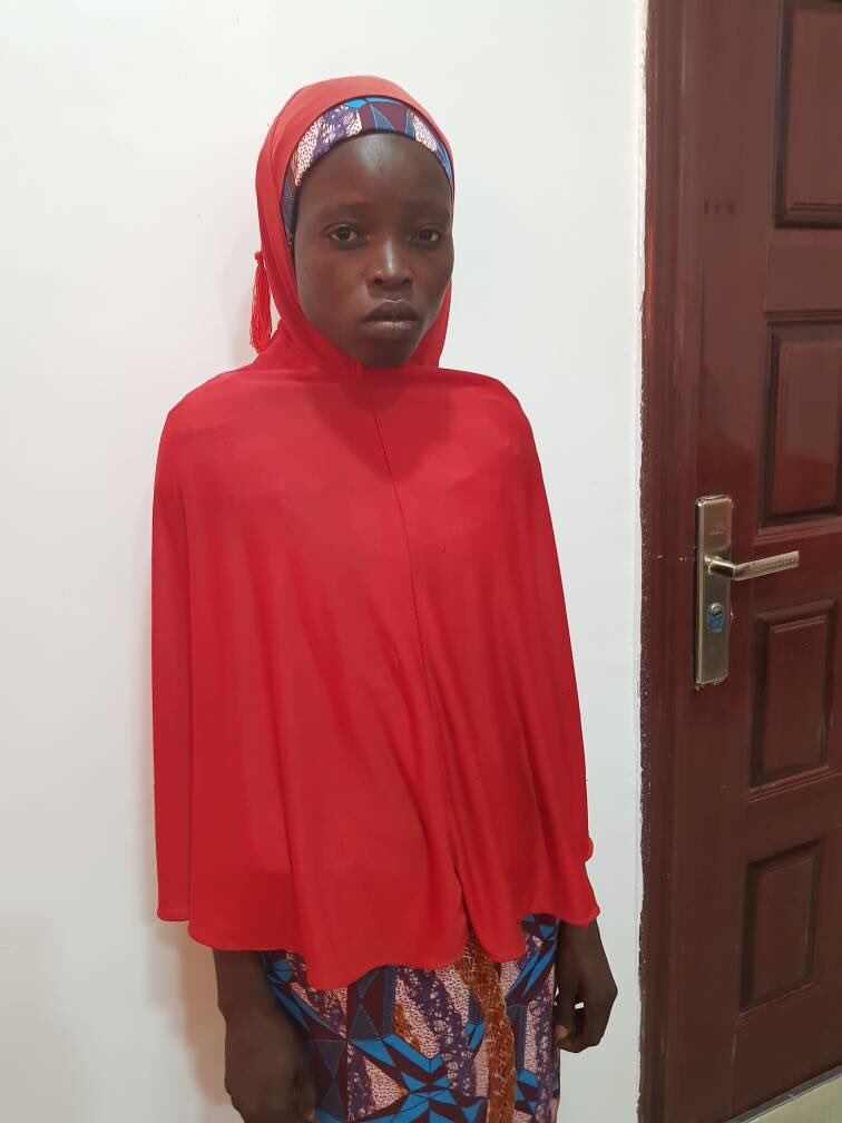 One More Chibok Girl, Salomi Pagu, Rescued by Nigeria Military