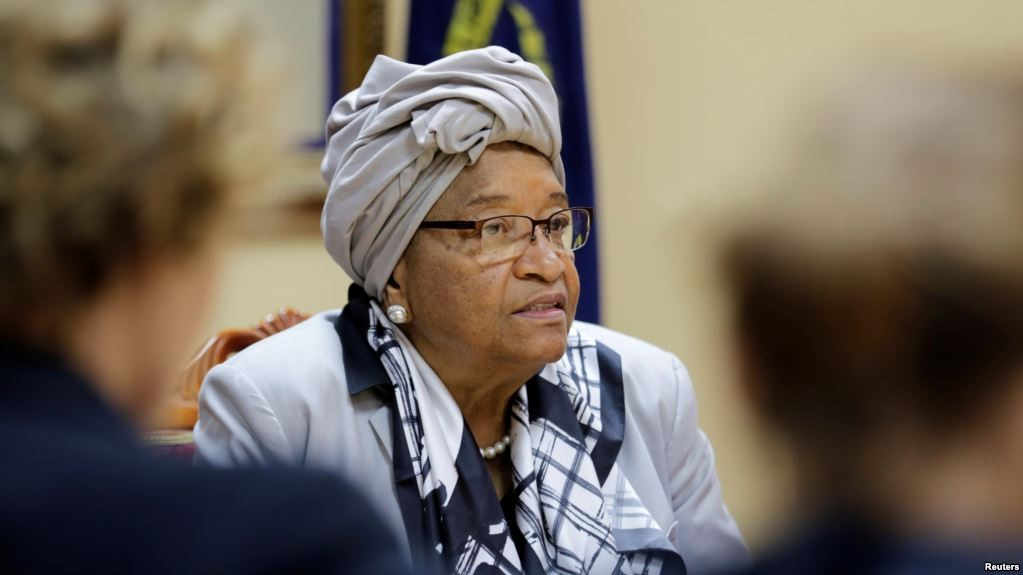 Liberia's ruling party sacks Johnson Sirleaf over anti-party