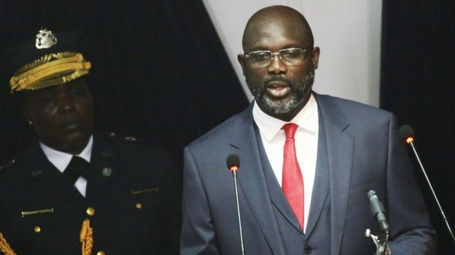George Weah Opens Arms to 'Foreigners' in Liberia, Pledges Pay Cut