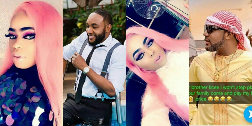 Nigerian Transgender wants hooked with Singer, KCee