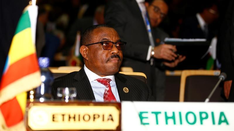 Ethiopia's prime minister Hailemariam resigns