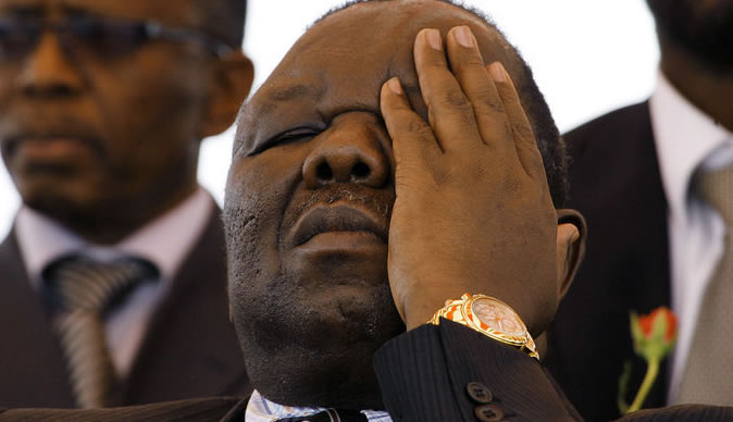 Did Morgan Tsvangirai foresee his death?