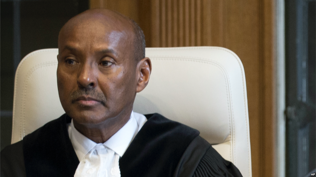 Somali Judge, Abdulqawi Yusuf, elected to lead the ICJ