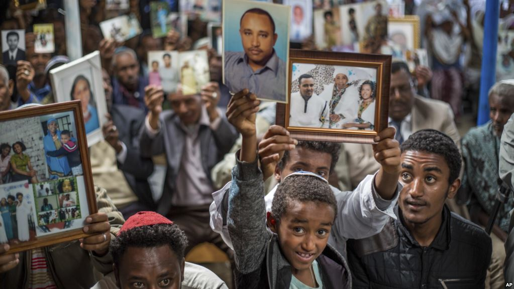 Ethiopian Jews want to re-unite with families in Israel
