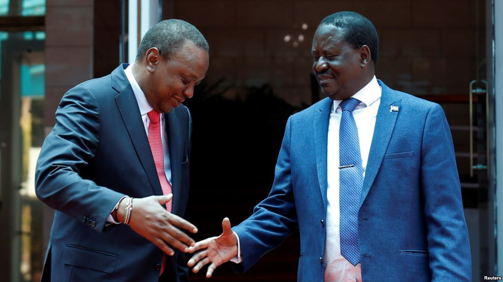 Kenya's Political Leaders Close Ranks, Preach Peace and Unity
