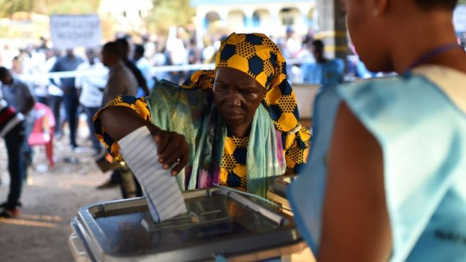 Sierra Leone votes today to elect new President
