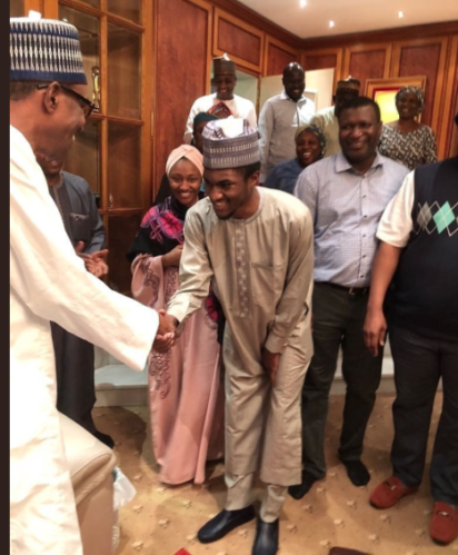 President Buhari's son, Yusuf, back home after head injury