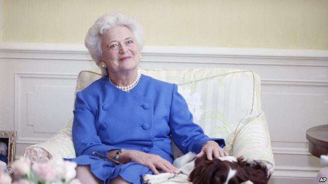Former U.S First Lady, Barbara Bush, dies at 92
