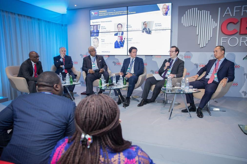 MCB Group flaunts own representation at the Africa CEO Forum