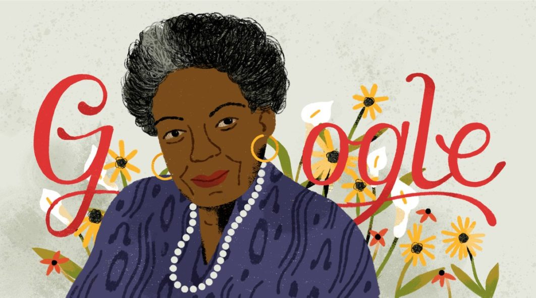 Google celebrates late writer, poet, Maya Angelou