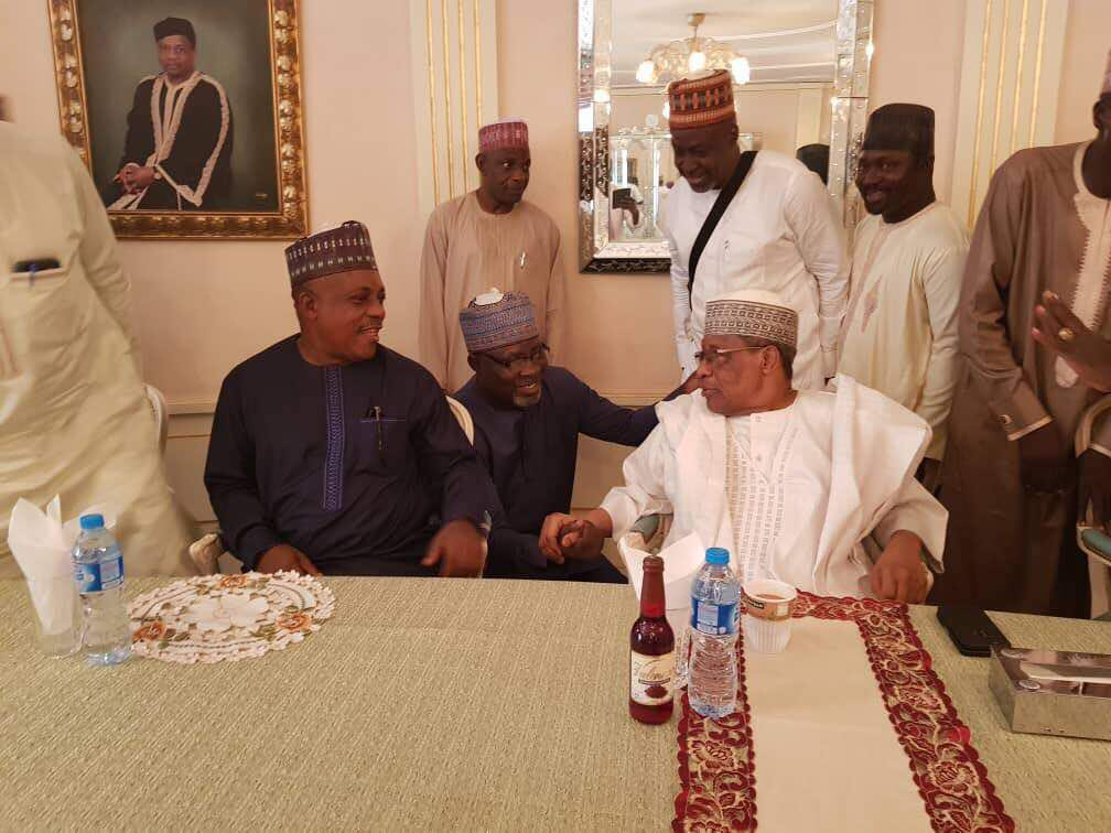 PDP consults with former military president, Babangida over 2019