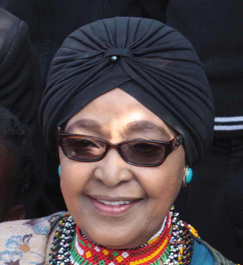 Winnie, the Nomzamo has passed on at 81