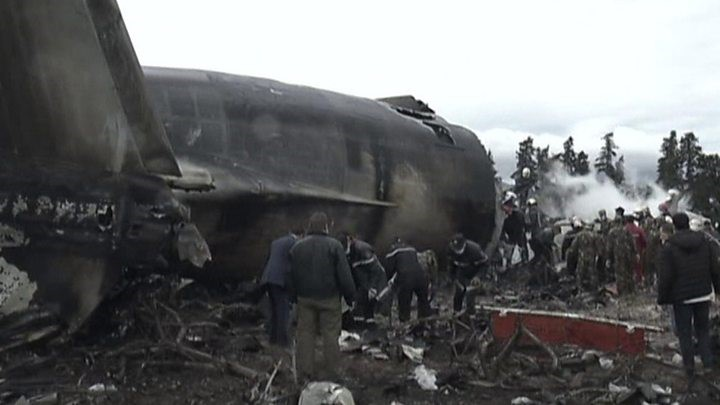 257 dead in Algeria military plane crash