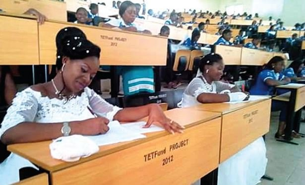 First things first: Nigerian Brides Abandon Wedding Receptions to Write Degree Exams