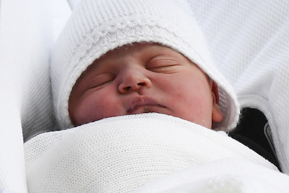 Britain's Prince William, Kate name baby son Louis Arthur Charles Prince William