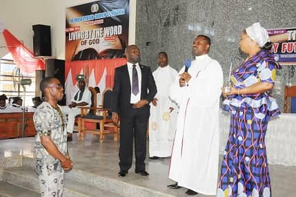 Honoured by church, 25 years after…By Kelechi Okoronkwo
