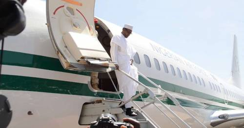 President Buhari has returned to Nigeria from London medica trip