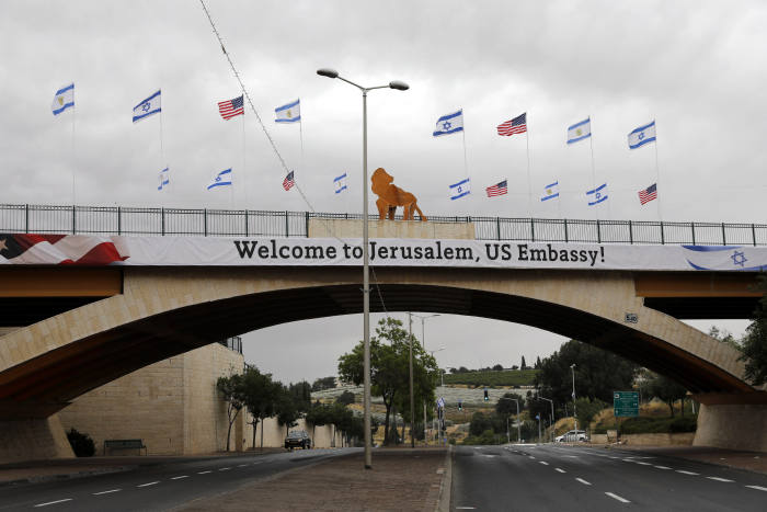 US Jerusalem embassy set for opening Monday, Palestinians plan bloody protest in Gaza