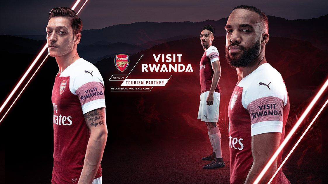 Arsenal players to bear 'Visit Rwanda' badge from August