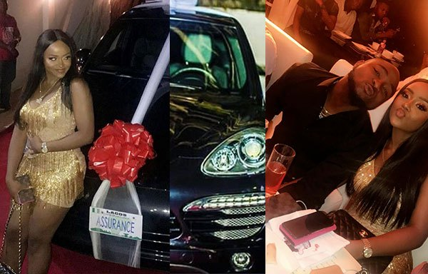 Nigerian music star, Davido, gifts N45m car to girlfriend