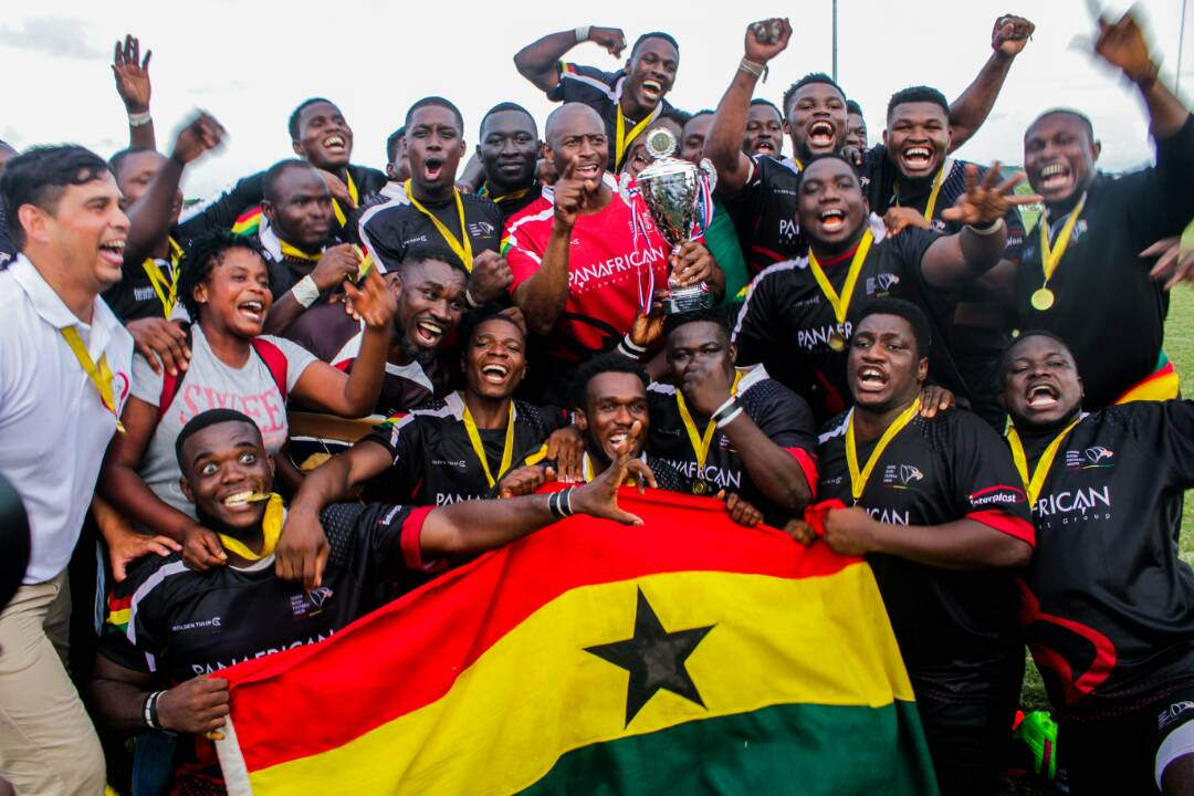 Ghana Eagles lifts 2018 Rugby Africa Bronze Cup