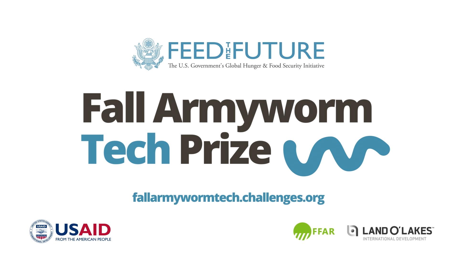 Uganda, Nigeria, US top entries for Fall Armyworm Tech Prize