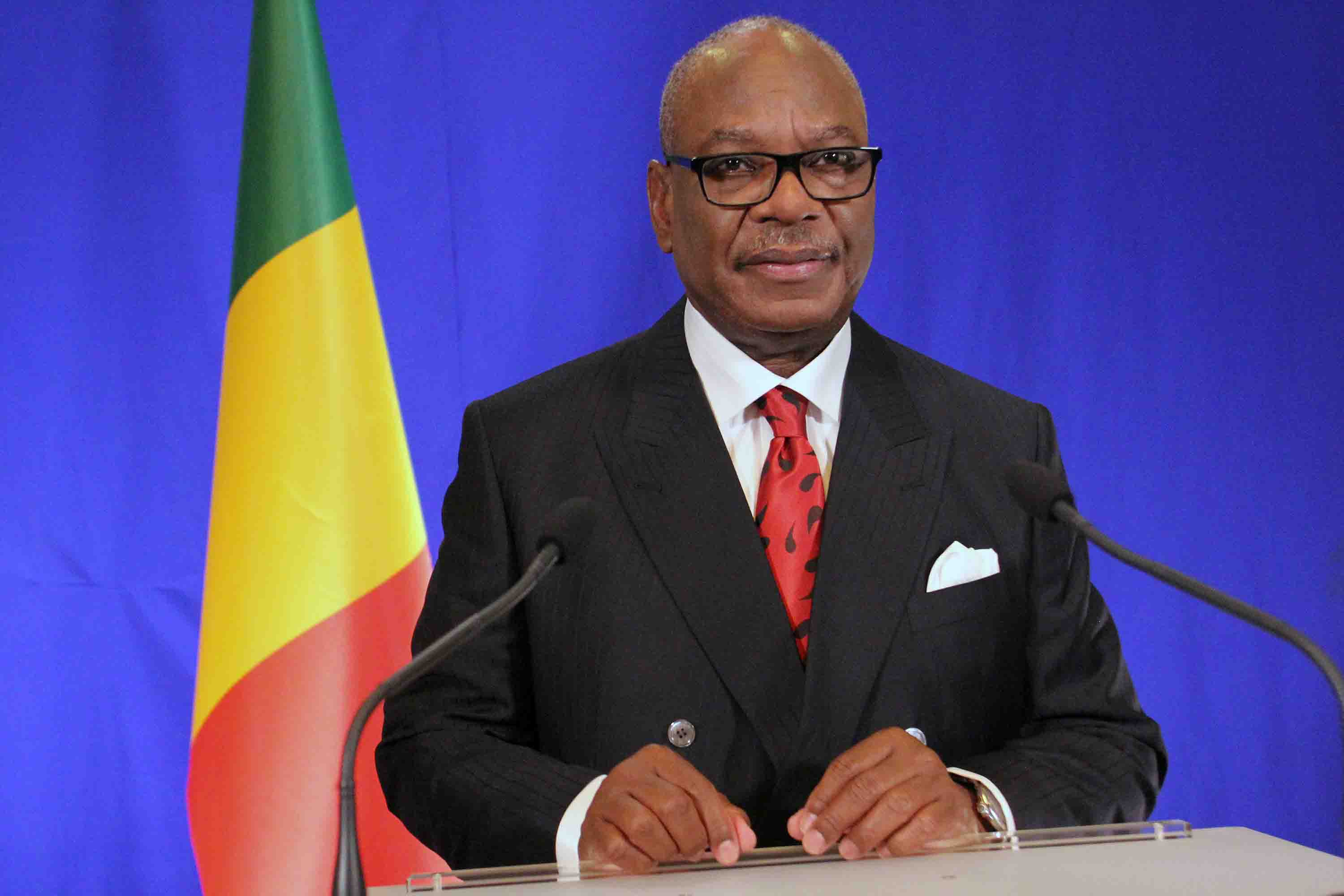 Mali's incumbent president, Ibrahim Keita, adopted to run for second term