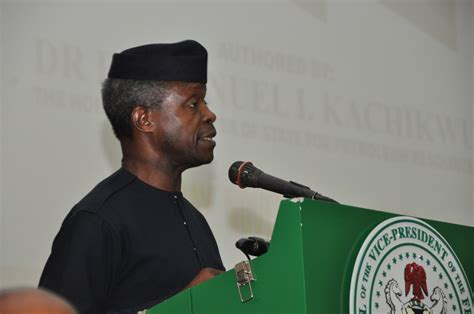 Buhari Administration Will Continue to Ensure Transparency, Accountability in Governance – VP Osinbajo