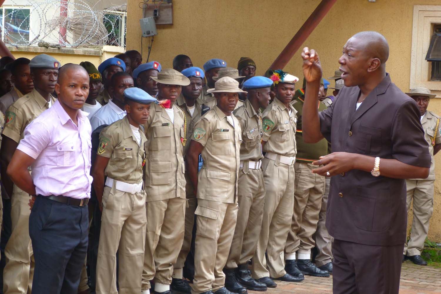 Peace Corps: Court stops trial over contempt by Police