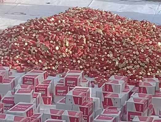 Nigerian military intercepts truckloads of ammunition