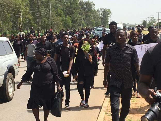 Photos: Huge protest in Jos over herdsmen killings