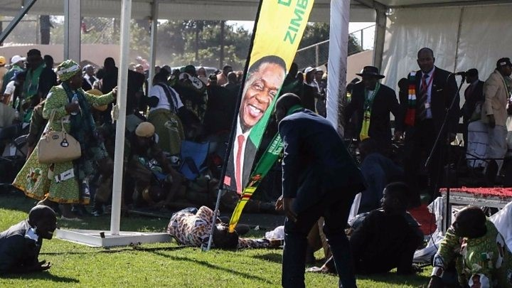 Mnangagwa says Zimbabwe election 'to go ahead as planned' despite 'attempt on his life'