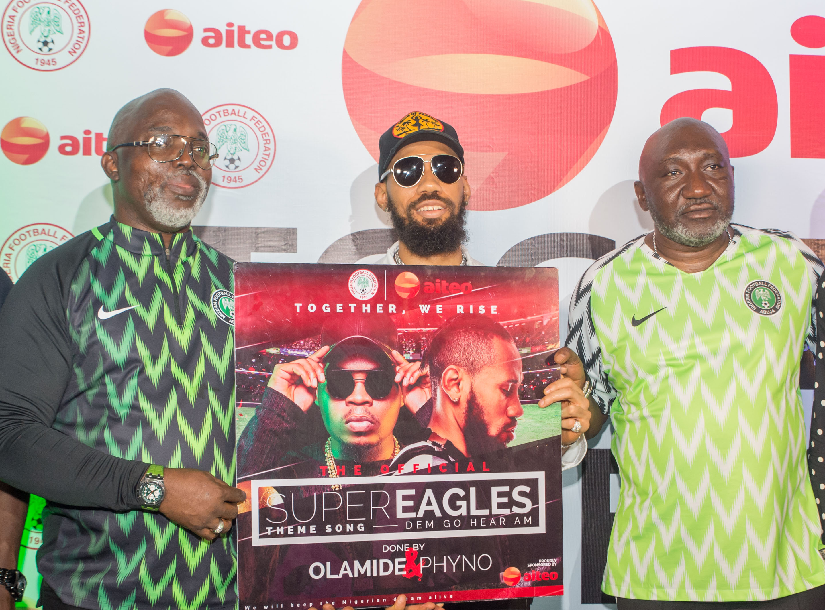 Aiteo sponsors Theme Song for Nigeria's 2018 World Cup Campaign
