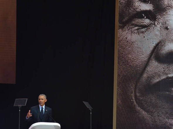 'It's poverty of ambition to want to have more and more…and more'—Obama at Mandela lecture