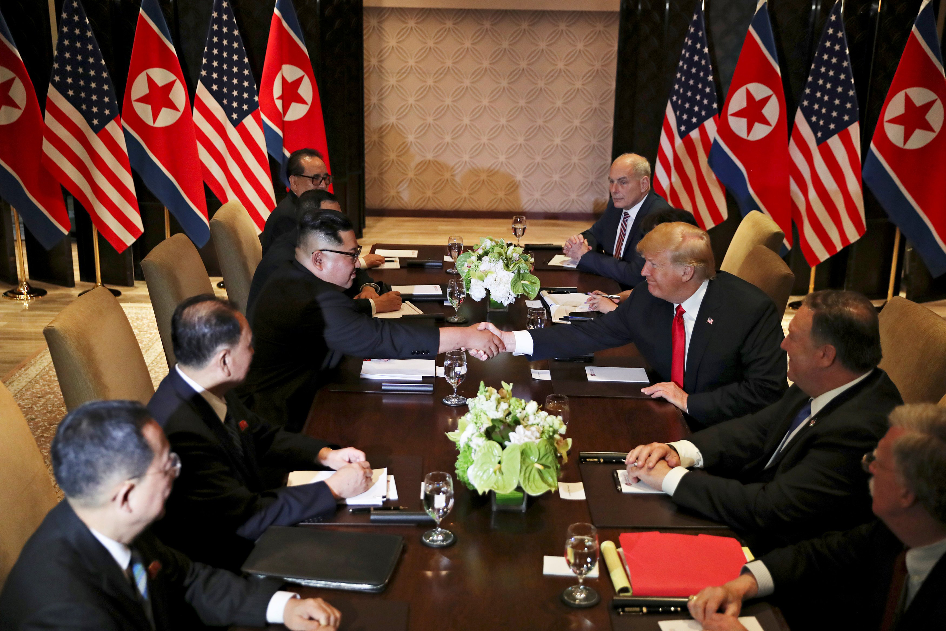 """New love for North Korea and US:  Kim describes Trump as """"extraordinary"""""""